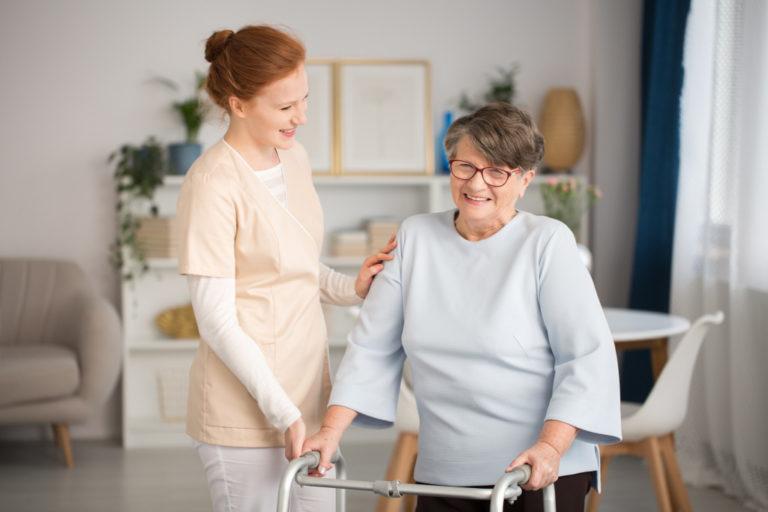 caretaker and senior