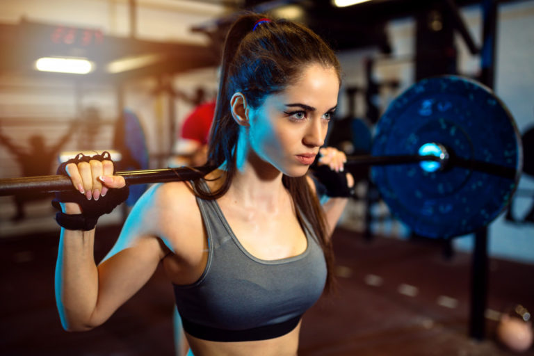 woman working-out
